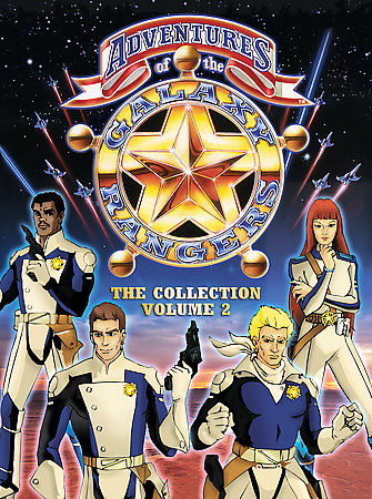 ADVENTURES OF GALAXY RANGERS COLL V2 BY GALAXY RANGERS (DVD)