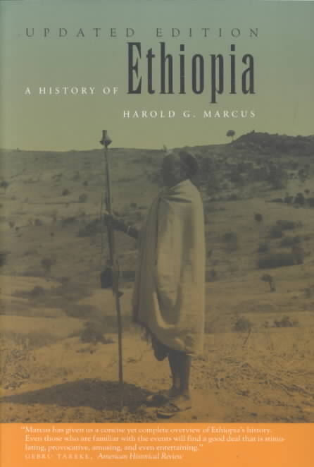 A History of Ethiopia By Marcus, Harold G.